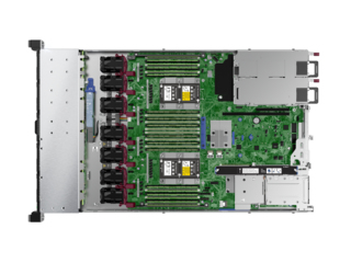 Hewlett Packard Enterprise ProLiant DL360 Gen10 server 26.4 TB 2.1 GHz 16 GB Rack (1U) Intel® Xeon® 500 W DDR4-SDRAM